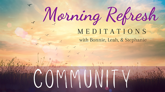 Morning Refresh | Community