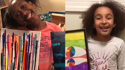 Artist Spotlight: Myla Colston-Ballard & Maeva Djoumbaye | Pupil of the Eye