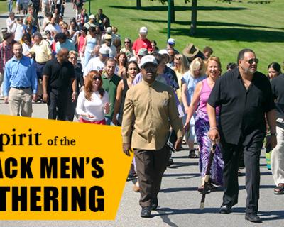 The Spirit of the Black Men's Gathering