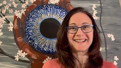 Artist Spotlight: Danielle Lessard, Pupil of the Eye