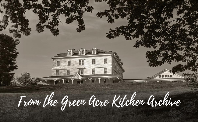 green acre, archive, kitchen, Sarah Farmer Inn