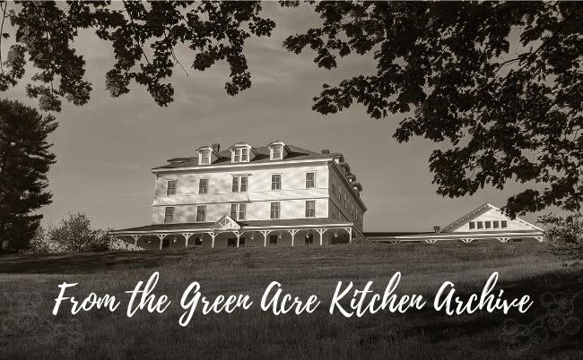 green acre, archive, kitchen, Sarah Farmer Inn