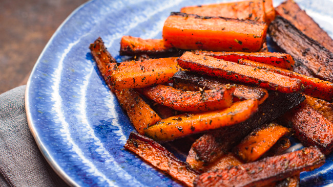 Moroccan Roasted Carrots — Food & Fellowship
