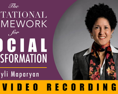 The Invitational Framework for Social Transformation | Layli Maparyan
