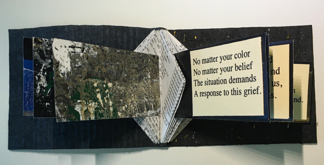 """Belinda K Hill, """"Woke: Response to the Call for Justice: disrupting the culture that supports racism"""", Book art"""