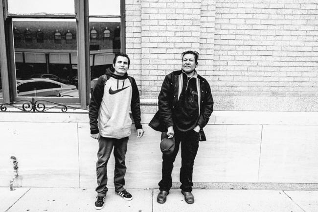 "Serge van Neck, ""Two Lakota Men"", Digital photography, 8 x 12 inches"