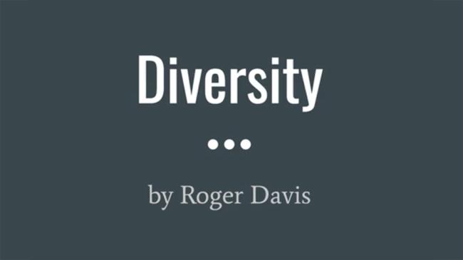 "Roger Davis, ""Diversity"", Poetry, Size: 5 stanzas, 60 lines, 784 words"