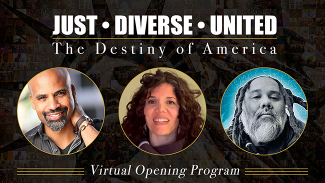 VIDEO | Virtual Opening | Just, Diverse, United