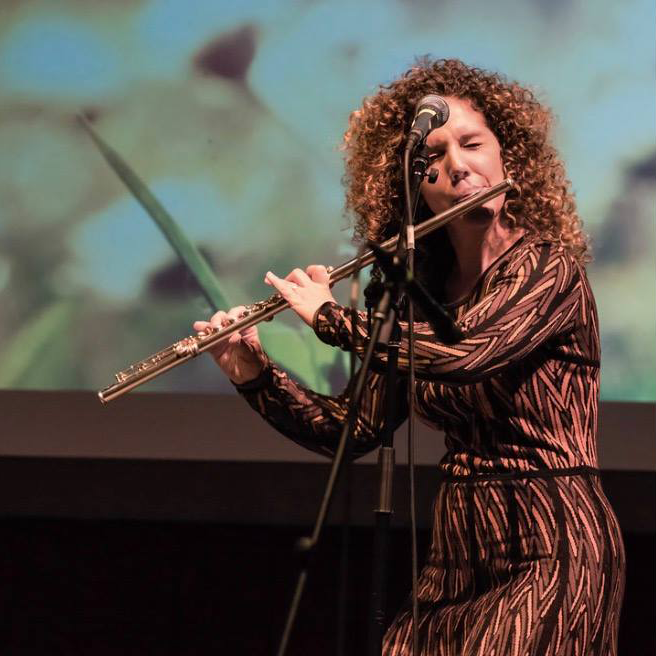 Laila Murphy - vocal performance artist and flutist