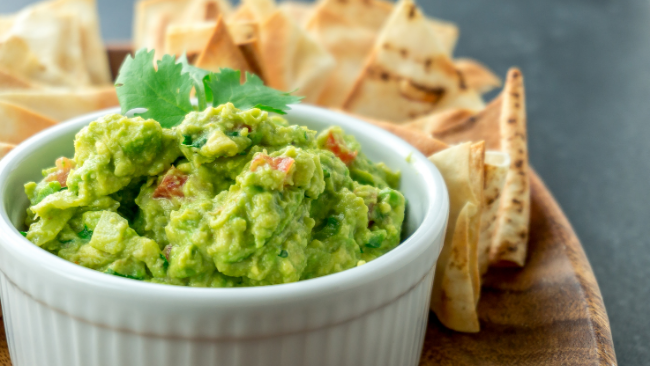 Food & Fellowship, Chips & Dips: Frank's Guacamole