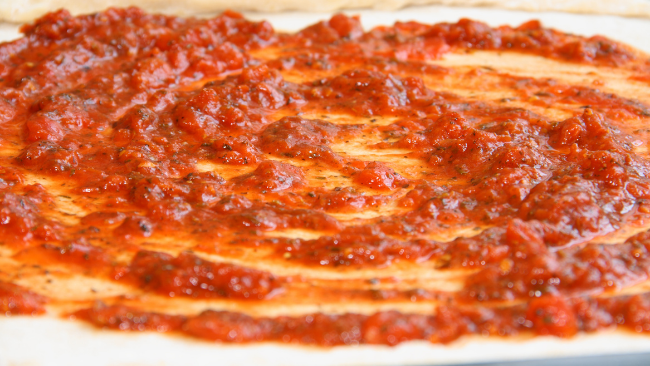 Food & Fellowship, Pizza; Roasted Tomato Pizza Sauce