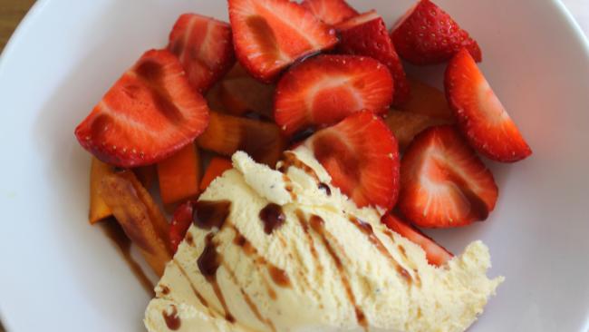 Food & Fellowship, Balsamic Strawberries