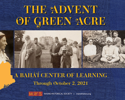 Early History of Green Acre on exhibit at Maine Historical Society