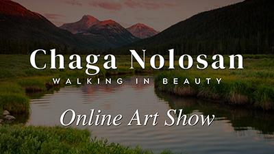 Chaga Nolosan – Walking in Beauty | Online Art Gallery