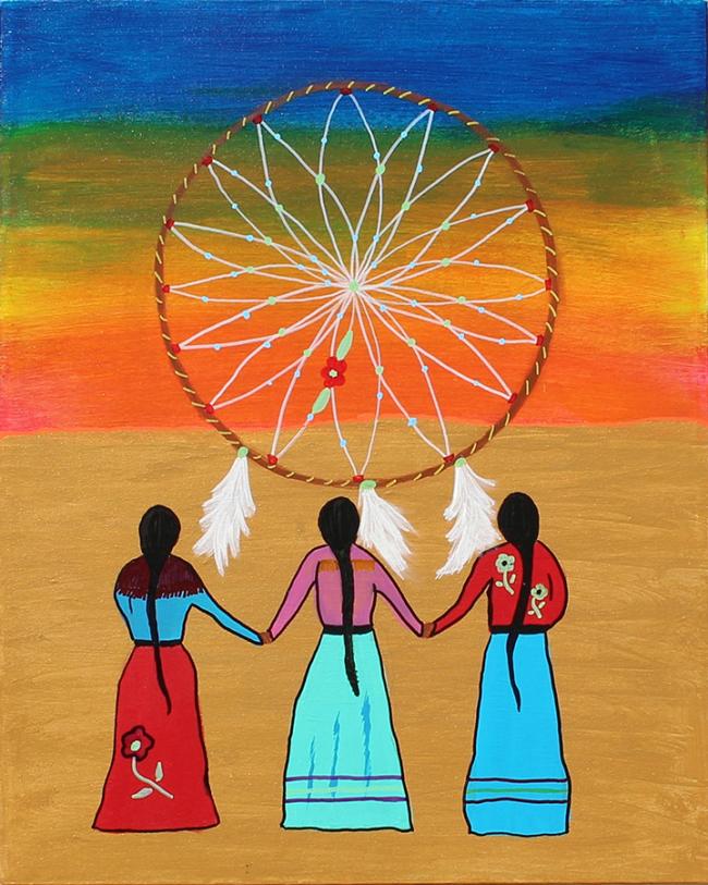 Three Sisters by Ingrid Desterres