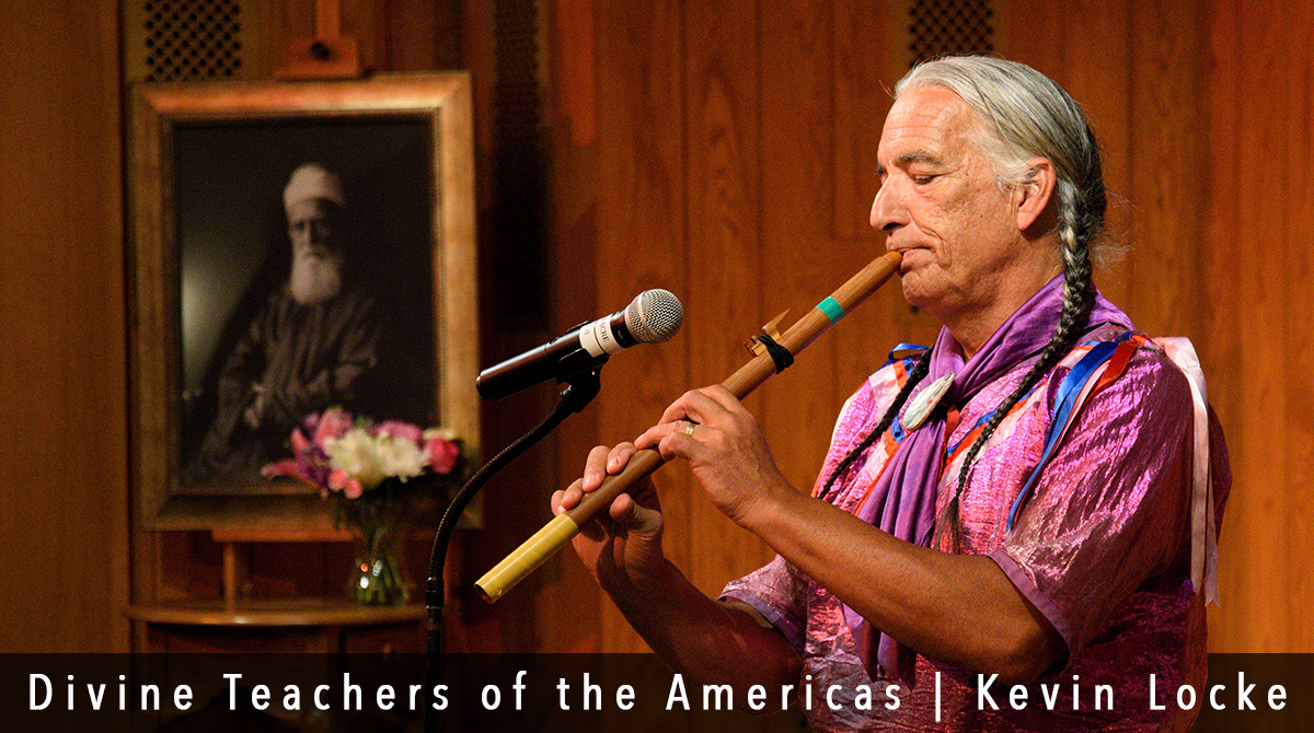 Divine Teachers of the Americas with Kevin Locke, visionary Lakota Hoop Dancer, preeminent player of the indigenous Northern Plains flute, a traditional storyteller, cultural ambassador, recording artist and educator.